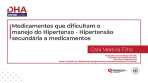 [DHA] Medicamentos que dificultam o manejo do Hipertenso – Hipertensão secundária a medicamentos