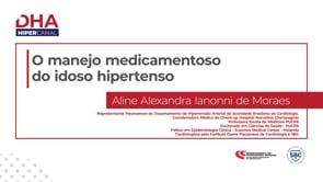 [DHA] O manejo medicamentoso no idoso hipertenso