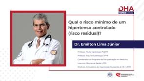 [DHA] Qual o risco mínimo de um hipertenso controlado (risco residual)?