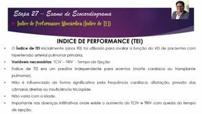 [ESCOLA DE ECO] Eco de Excelência – Ep. 27 – Índice de TEI do Ventrículo Direito