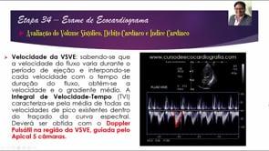 [ESCOLA DE ECO] Eco de Excelência – Ep. 34 – Cálculo do Volume Sistólico