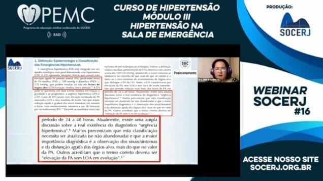 [SOCERJ] Curso de Hipertensão – Módulo III – Hipertensão na Sala de Emergência