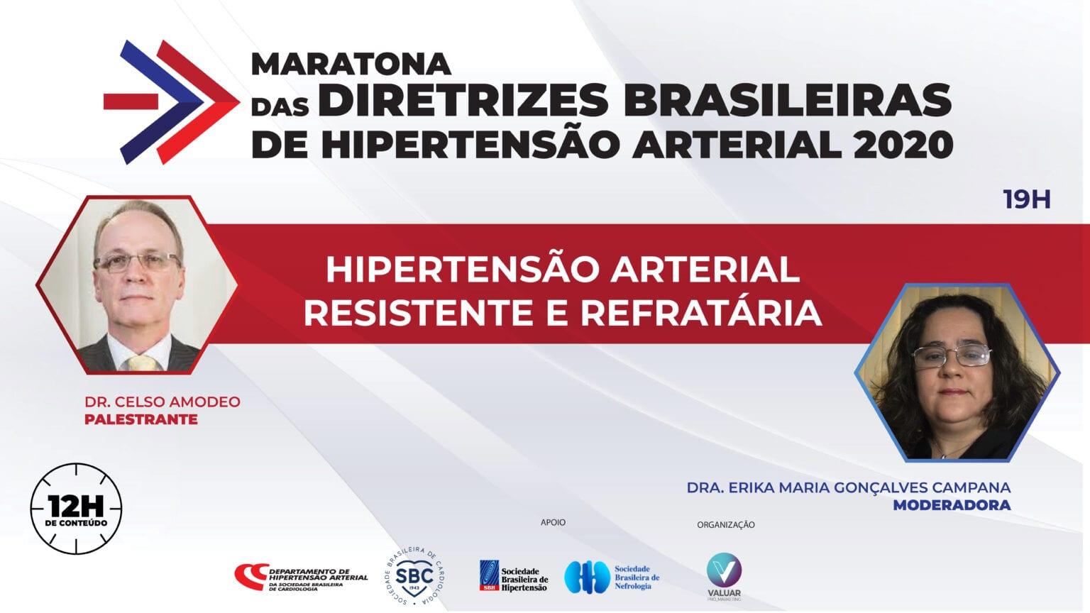 Hipertensão Arterial Resistente e Refratária