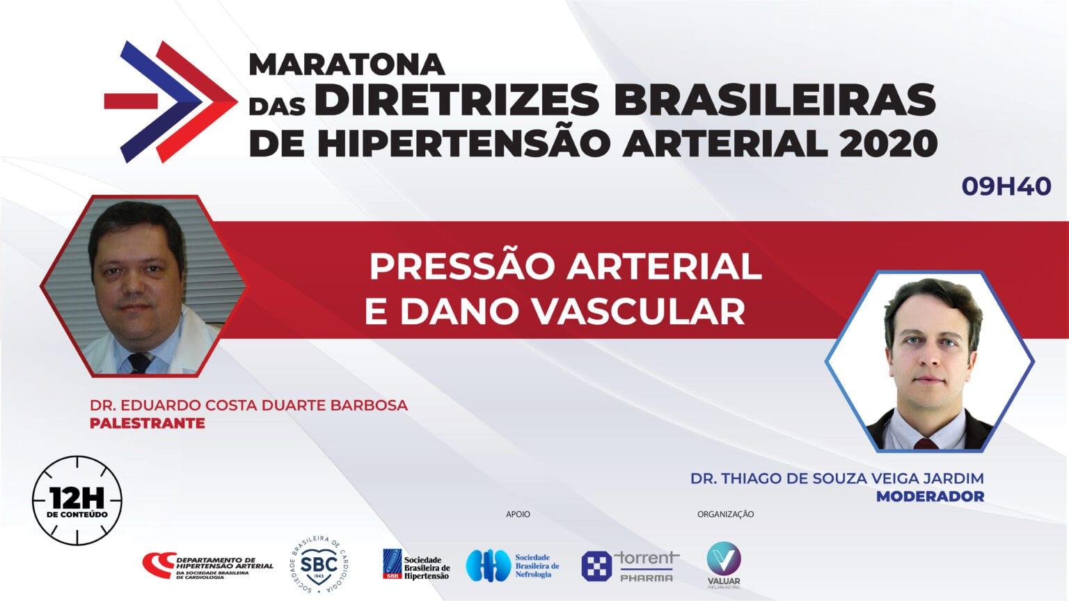 Pressão Arterial e Dano Vascular