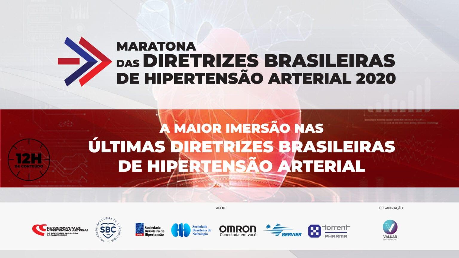 Abertura – Maratona das Diretrizes Brasileiras de Hipertensão Arterial 2020