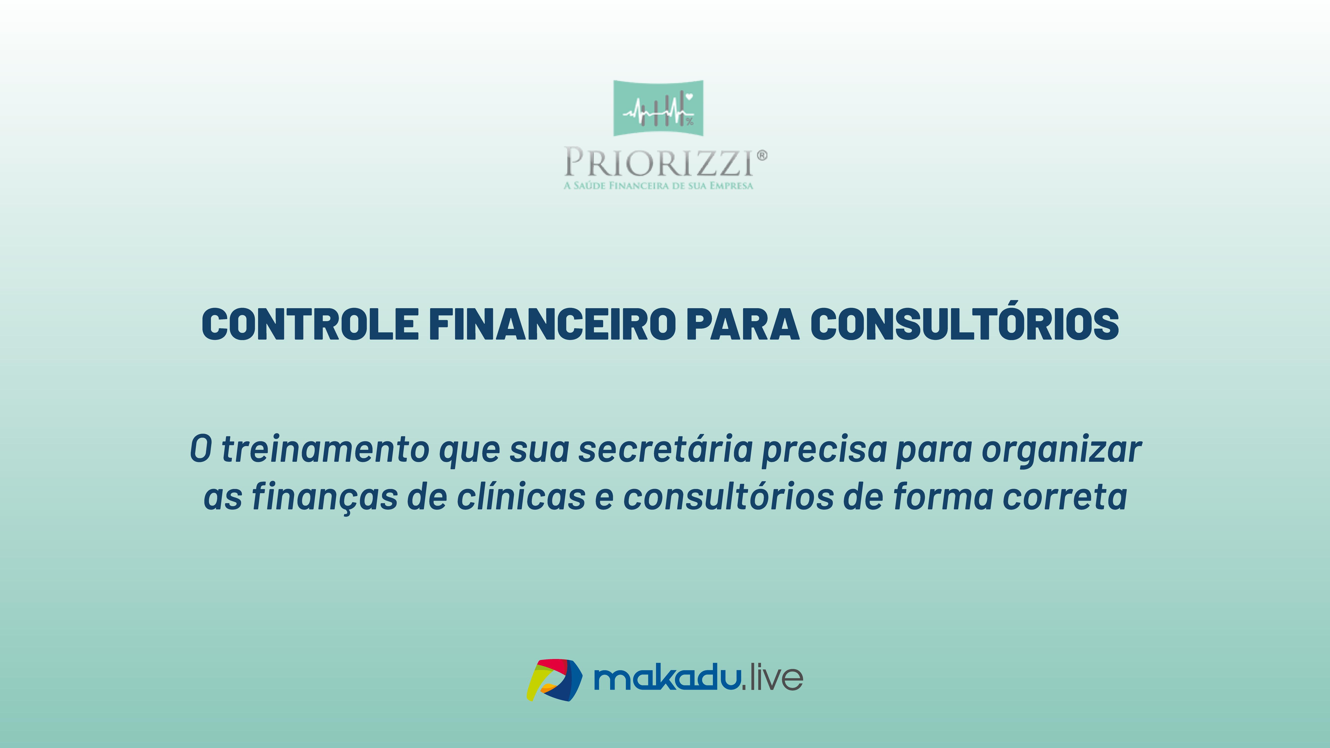 Curso Controle Financeiro Para Consultórios